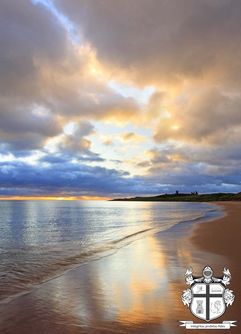 Embleton beach, Northumberland, UK